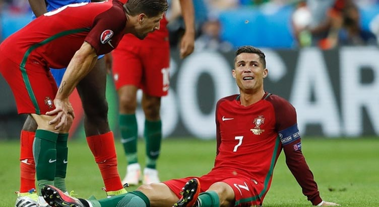 Ronaldo-Injury